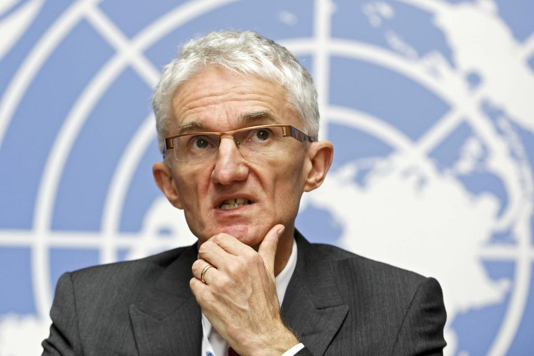 Secretary-General for Humanitarian Affairs and Emergency Relief Coordinator Mark Lowcock