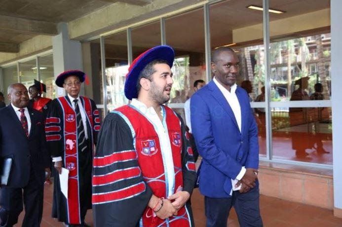 Mr. Rajiv Ruparelia, the promoter of Victoria University (FILE PHOTO)