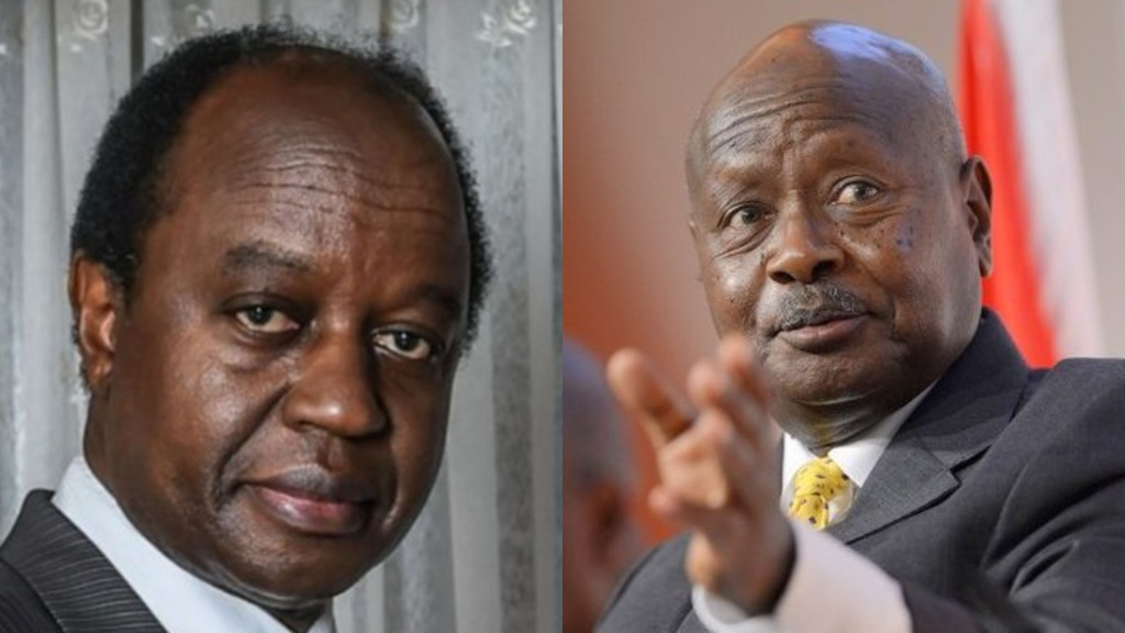 In a recent interview, Australia-based Ugandan physician-cum-politician Dr Aggrey Kiyingi has called out President Museveni (PML Daily PHOTOMONTAGE)