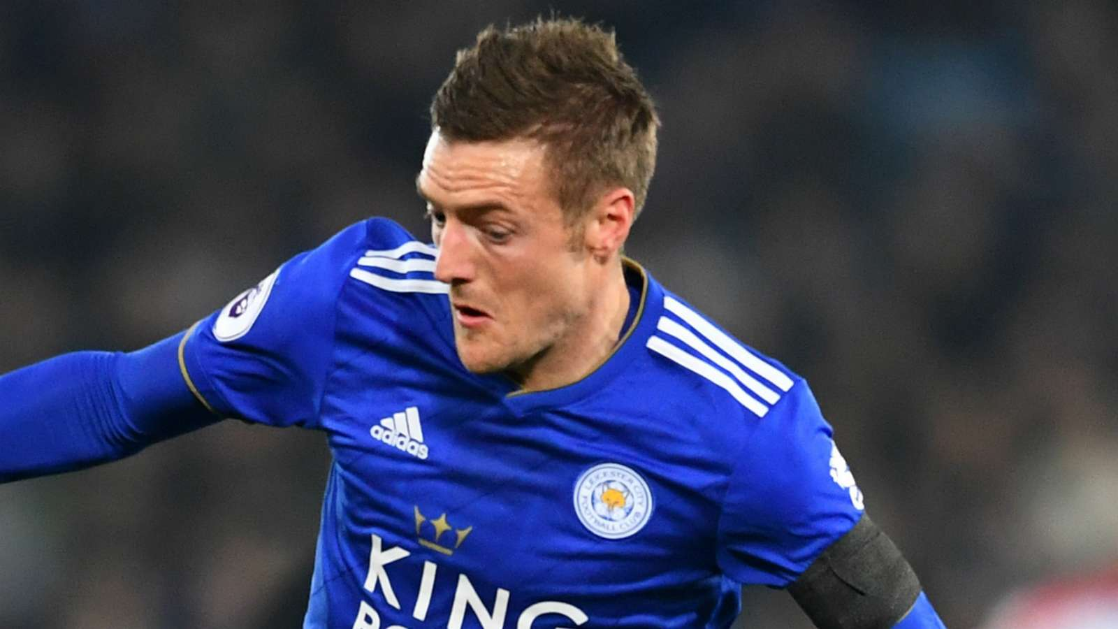 Vardy scored a brace in Leicester's 3-0 win over Arsenal. (Agency Photo)
