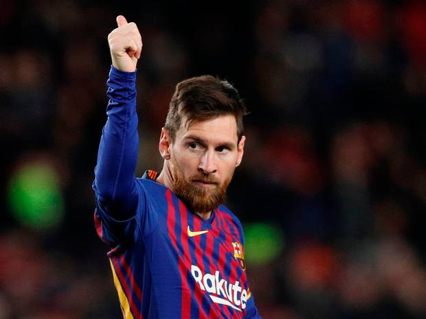 Messi has scored 608 goals for Barcelona (Agency Photos)