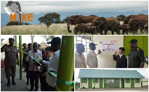 Two new eight-man ranger posts were handed over to the Uganda Wildlife Authority (UWA) on Friday 12th April, 2019. The Deputy Head of Mission, Embassy of Japan in Uganda, Mr Mizumoto Horii commissioned the Lions Bay ranger post, and the Honourable Minister Godfrey Kiwanda Ssubi opened the Katore ranger post.