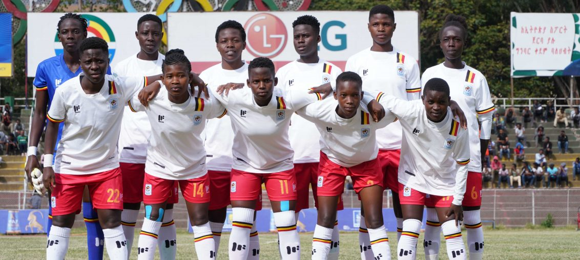The Crested Cranes team that started against Ethiopia on Wednesday. (FUFA Photo)