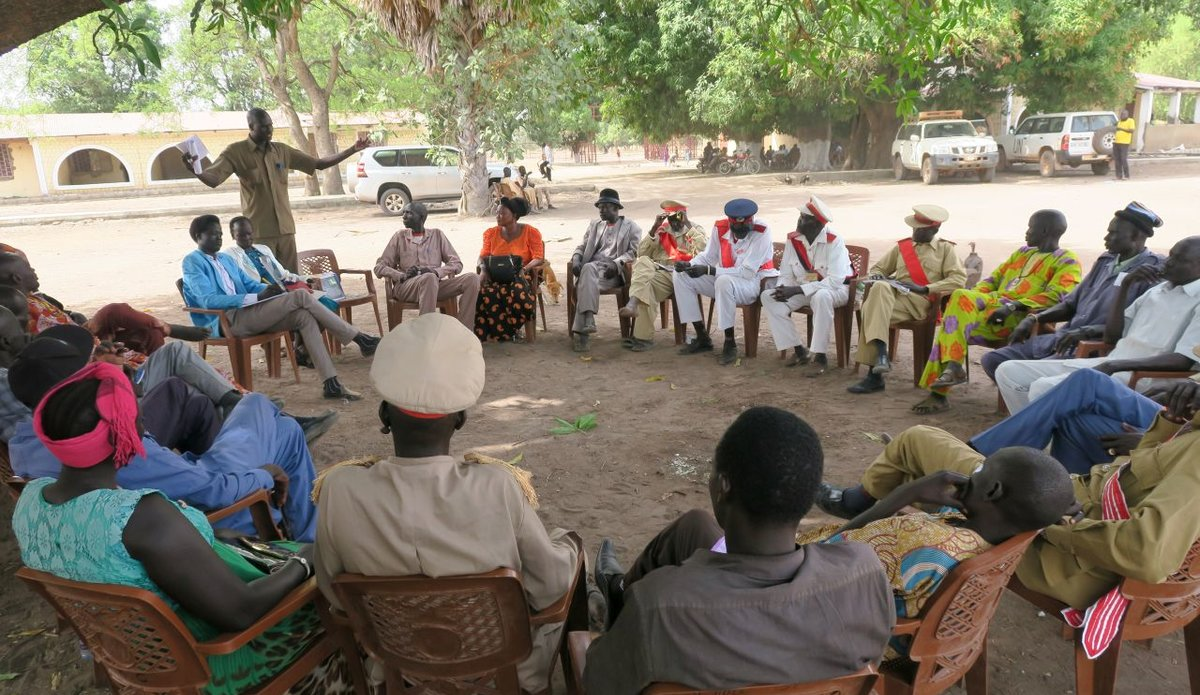 Tonj and Gok  elders form Joint Border Court to arbitrate cross-state conflicts