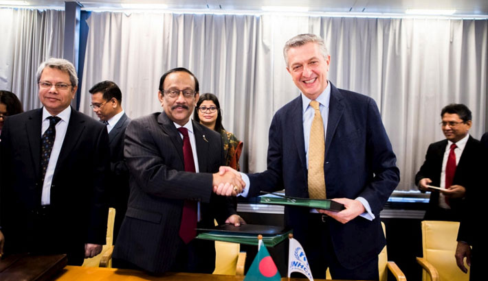 UNHCR and PAP agreed on measures to strengthen protection and find solutions for the forcibly displaced and stateless