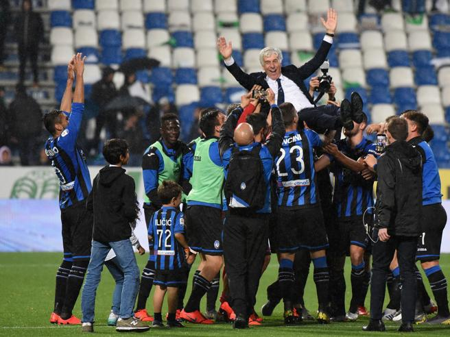 Atalanta will play Champions League football for the first time in their history. (PHOTOS/AGENCIES)
