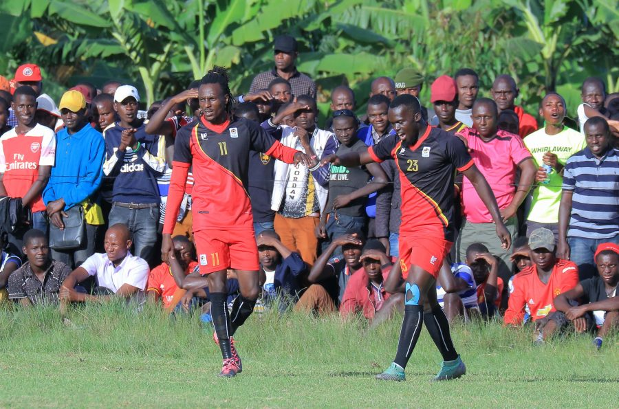 Birungi (Left) is one of four players that have been dropped. (PHOTOS/FILE)