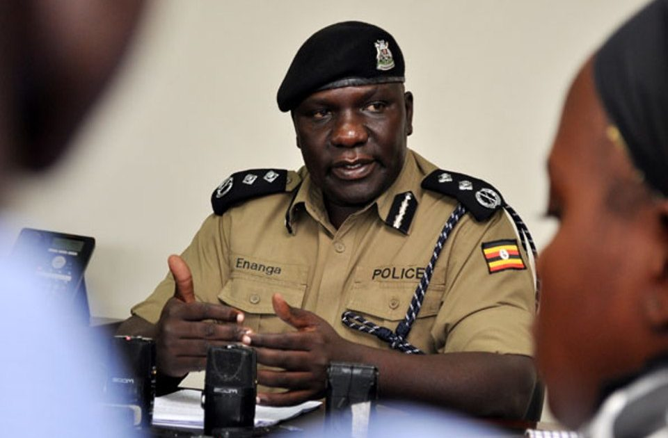 Police Spokesperson, Fred Enang. Police has dismissed the alleged shooting of a medical doctor on Entebbe Expressway (PHOTO/File)