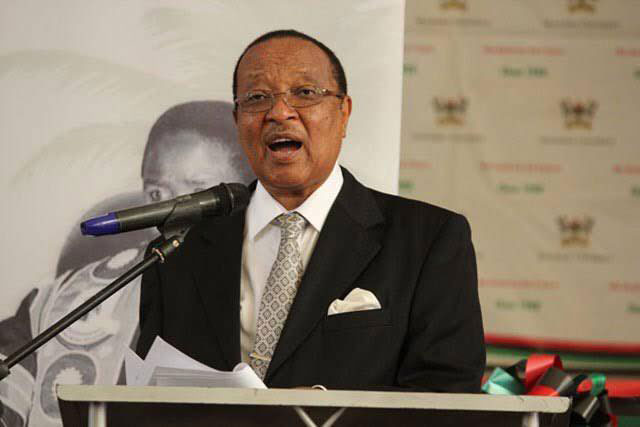 Former Prime Minister Prof Apollo Nsibambi has died.