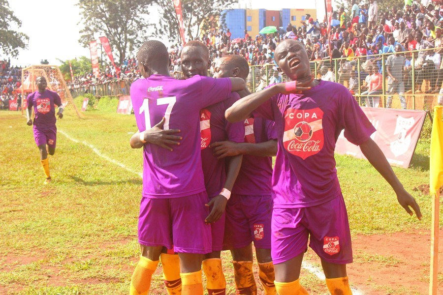 Buddo players celebrate Loki's openner against JIPRA (PHOTOS/AGENCIES)