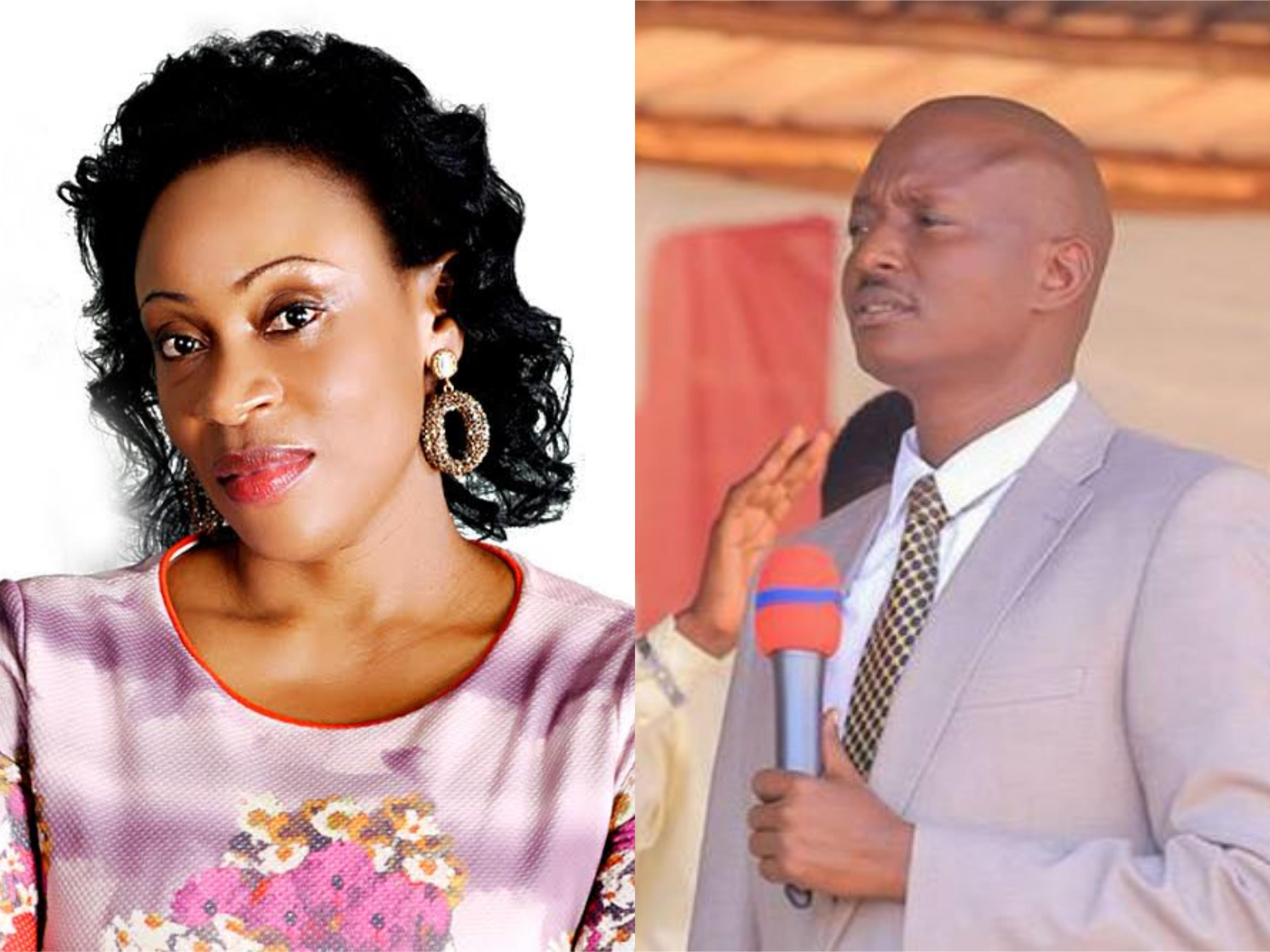 Ms. Jessica Kayanja and Pastor Aloysius Bugingo
