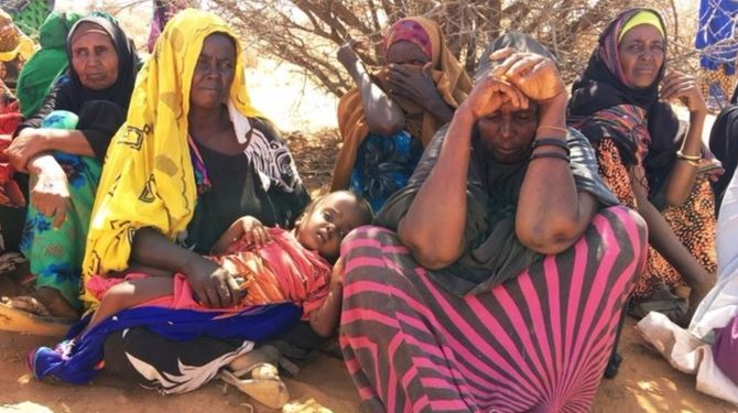 Millions of people are said to be on the brink of starvation across East and North Africa.