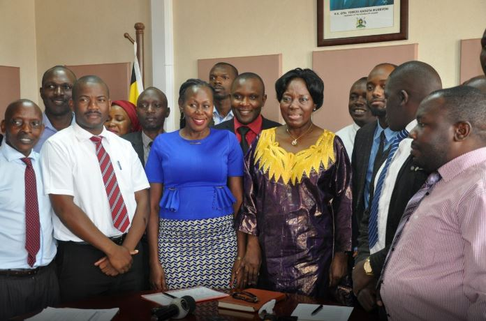 Rebecca Kadaga, the speaker of parliament has cautioned journalists on the expectations of the House before covering it. (PHOTO/FILE)