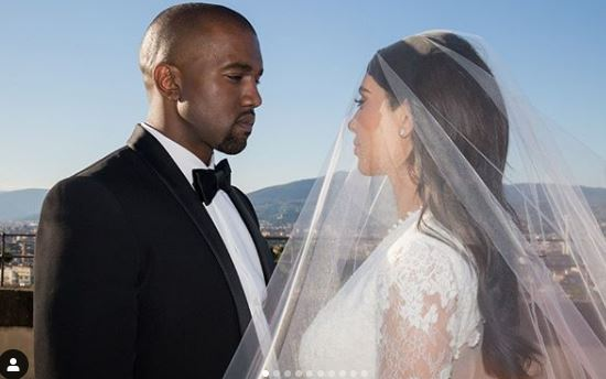Kim Kardashian and husband Kanye West celebrated their 5th on Friday. (PHOTO/FILE)