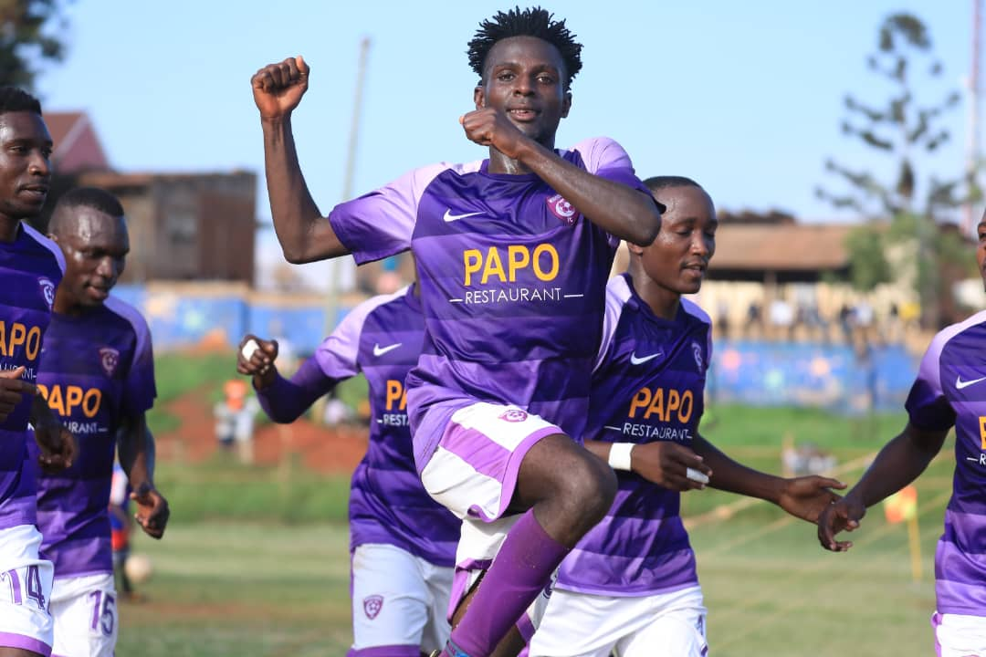 Wakiso Giants lost to KCCA FC in their quarter final game. (PHOTO/File)