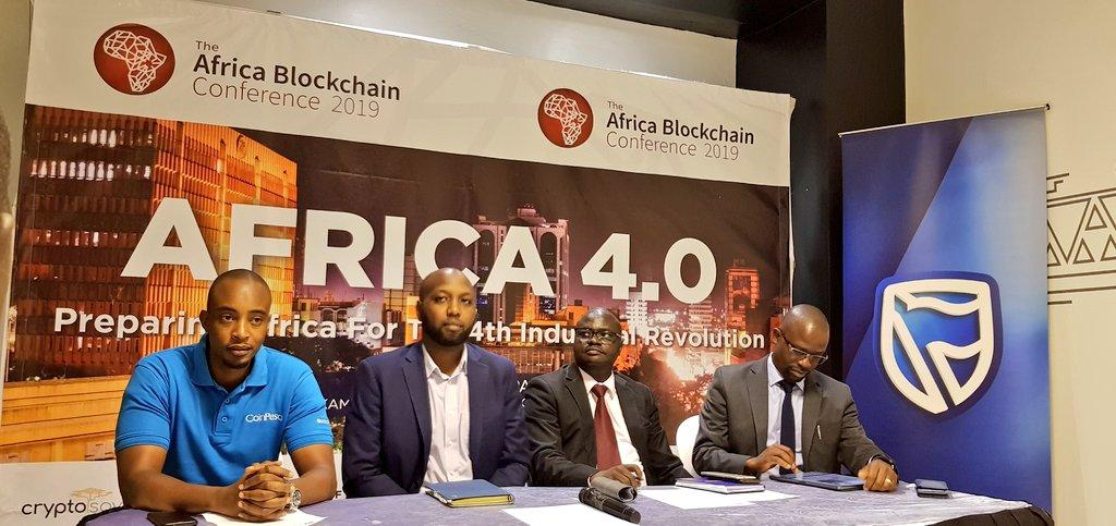 The  Blockchain Conference was officially launched by blockchainug chairman, Kwame Rugunda and other strategic partners.