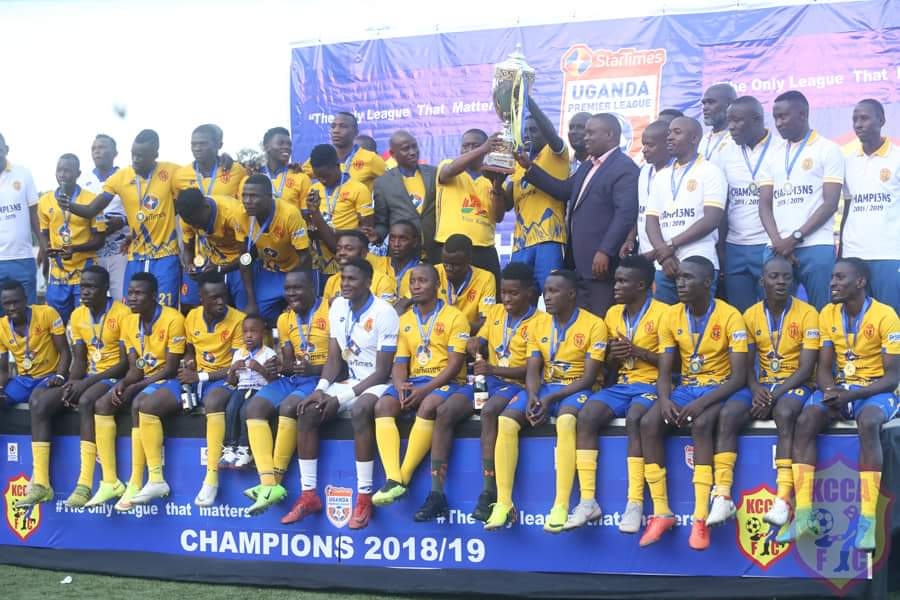 KCCA FC have already confirmed their participation.