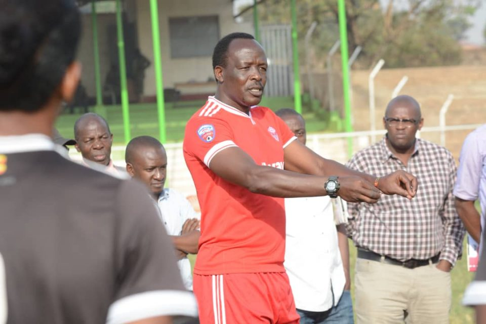 George Ssemwogerere took over as head coach of Express in February 2019. (PHOTO/File)