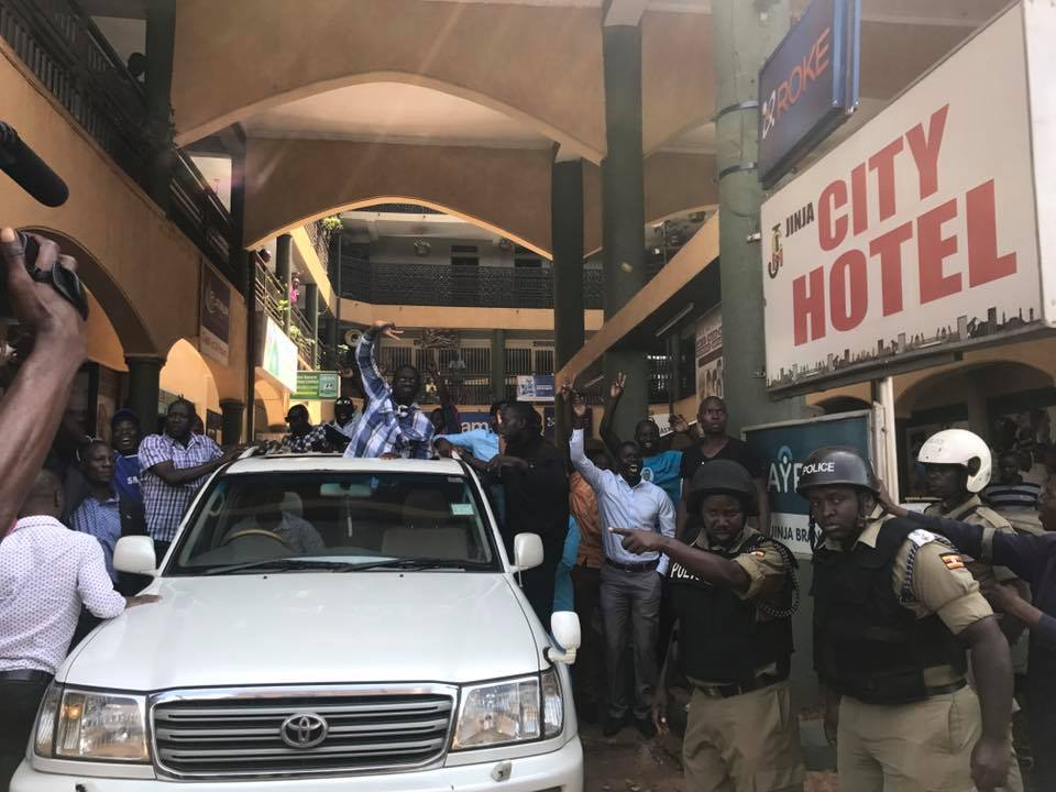 FDC supporters praise Besigye's driver as he disappears from police