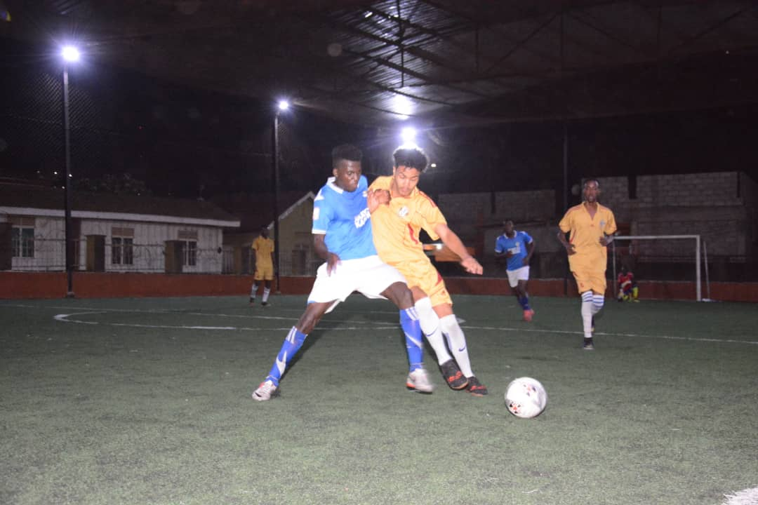 Yeak (Blue & White) are now six points clear at the top. (Futsal Photos)
