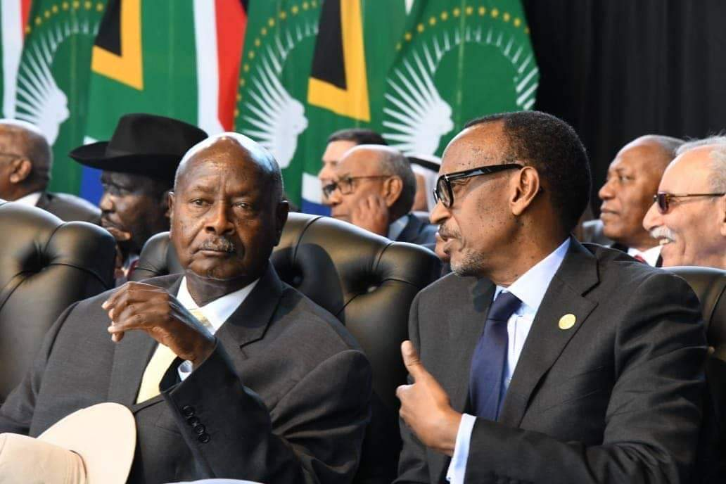 Presidents Museveni and  Paul Kagame have held security talks in Angola. (PHOTO/File)