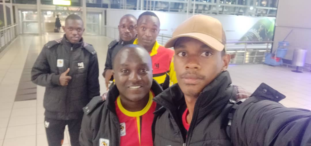 The COSAFA Cranes landed in South Africa at 7pm E.A.T. (PHOTOS/AGENCY)