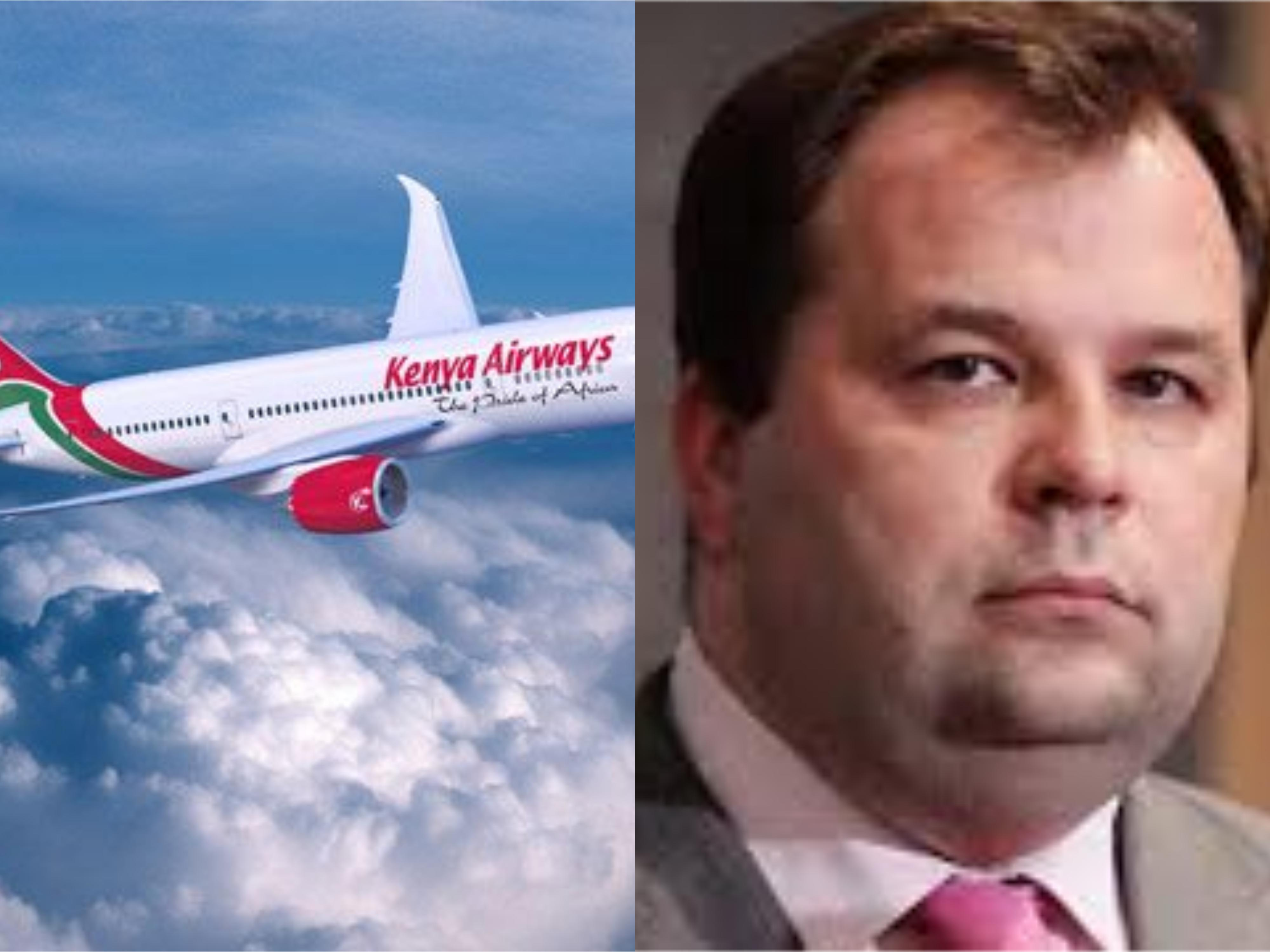 Kenya Airways Chief Executive Officer Sebastian Mikosz quits. (PHOTO/FILE)
