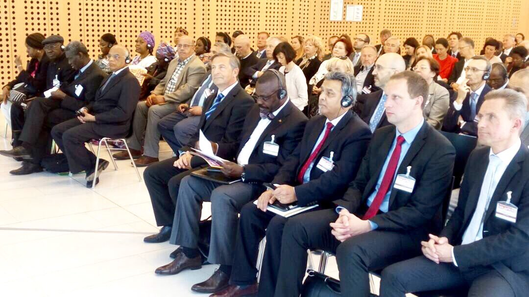 Meeting at the 6th Africa Day International Conference in Ljubljana, Slovenia