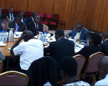 Ministry of Finance appears before the Parliamentary Committee on Finance