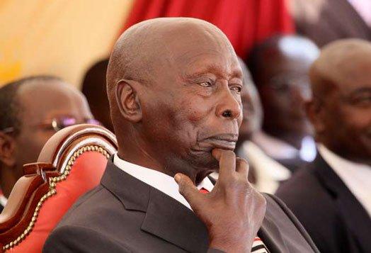 Former President of Kenya Daniel arap Moi