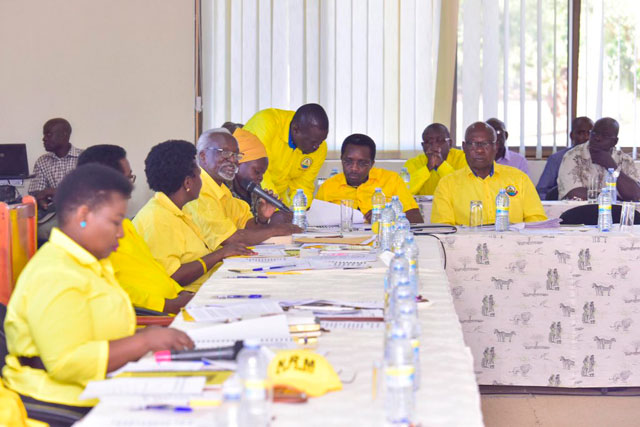 NRM Central Executive Committee said that Museveni's directive to recruit the cadres was not among the eight resolutions made in February at Chobe Safari Lodge in Murchison Falls Park. (FILE PHOTO)