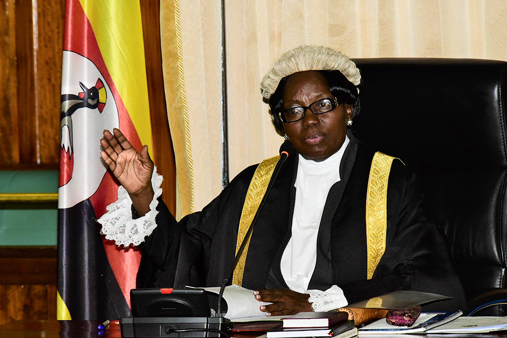 Speaker Rebecca Kadaga, the allegations made by Senior State Attorney, Samantha Mwesigye against Gashirabake.