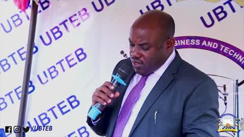 UBTEB executive secretary Onesmus Oyesigye deliberates on an issue recently. (PHOTO/UBTEB)