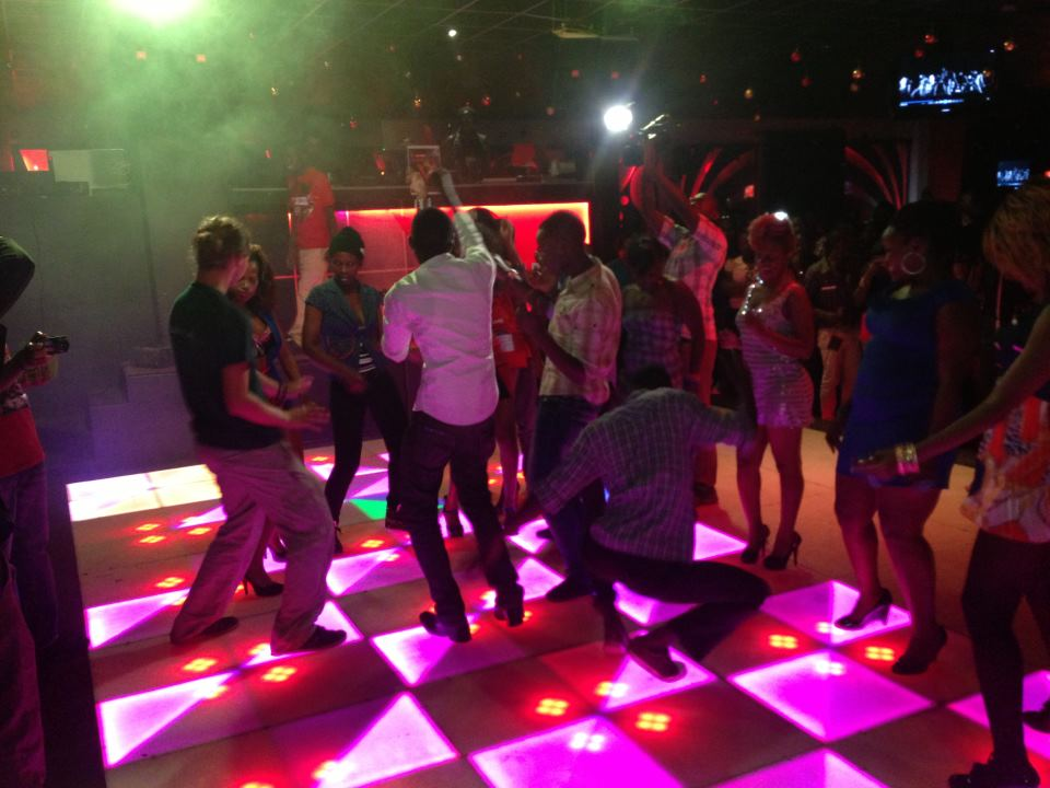 Revelers enjoying at one of the night clubs in Kampala. (PHOTO/File)