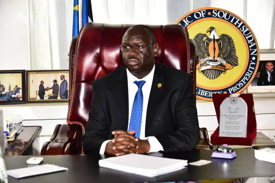 Anthony Makana, The Speaker of the Transitional National Legislative Assembly of South Sudan assures a Makana assured a delegation of Members of Parliament from Uganda that his Parliament will collaborate with government of South Sudan to clear Ugandan traders' claims.
