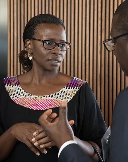 Uganda National Oil Company CEO Josephine Wapakabulo. (PHOTO/Courtesy)