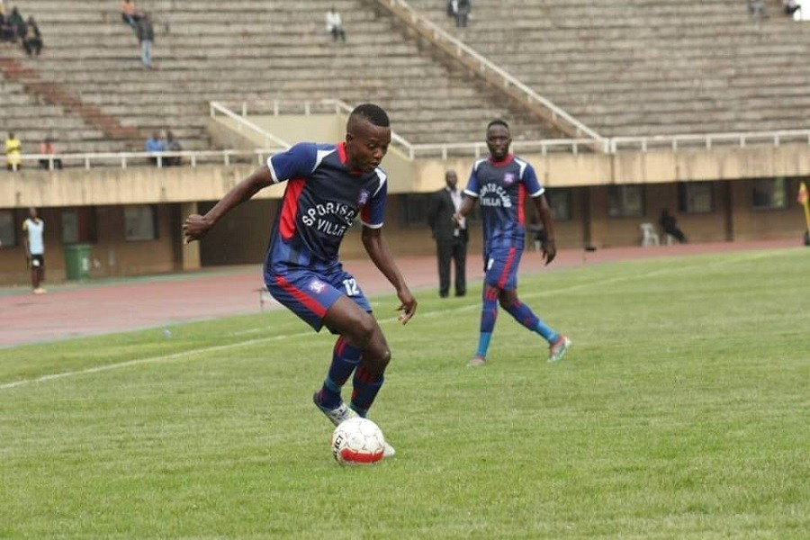 Mugisa scored Villa's 6th goal against Nyamityobora on Saturday. (File Photos)