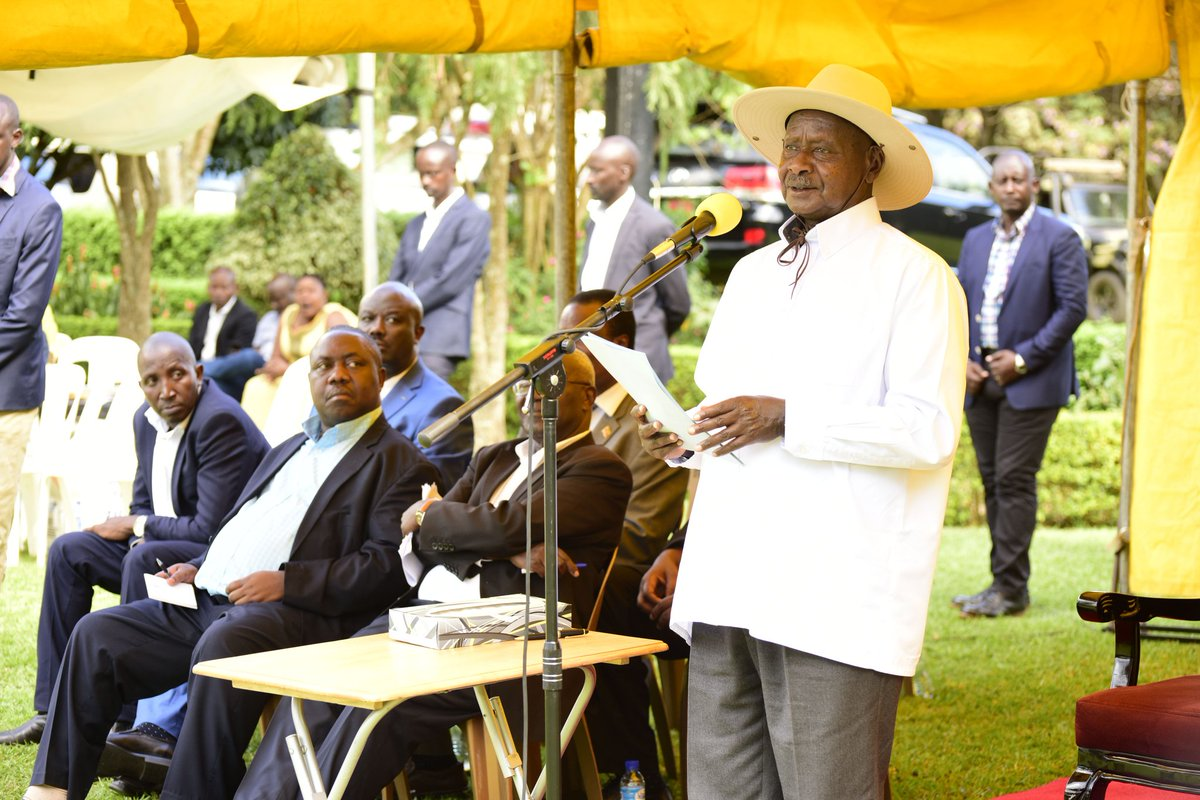 President Yoweri has continue to urged leaders to keep mobilizing, and educating people on this subject of wealth creation.