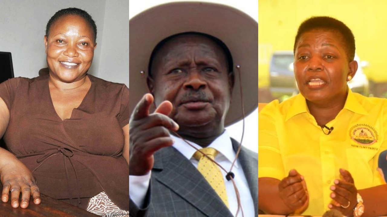 Tension is brewing at the NRM secretariat after Party Chairman, President Museveni (C) sanctioned party PA, to recruit NRM cadres from each village a directive that undermines the duties of the Secretary General, Kasule Lumumba's office. (PHOTO/PML Daily Montage)