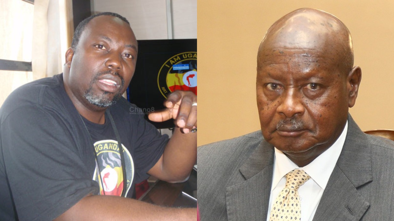Recording producer and songwriter, Richard Kaweesa, has dragged President Museveni seeking the revokation of his immunity to answer charges of copyright. (PHOTOMONTAGE/PML Daily)