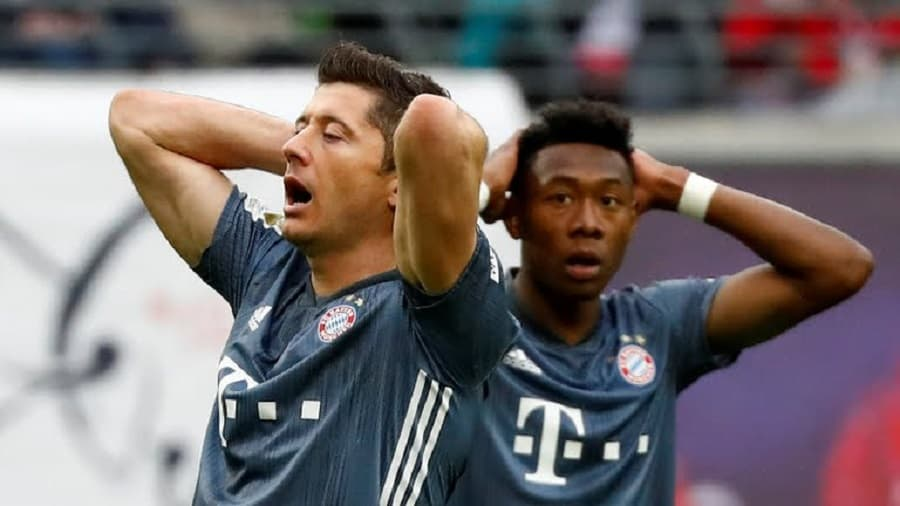 Bayern now hold a two point lead at the top of the table with just a game to play. (Agency Photos)