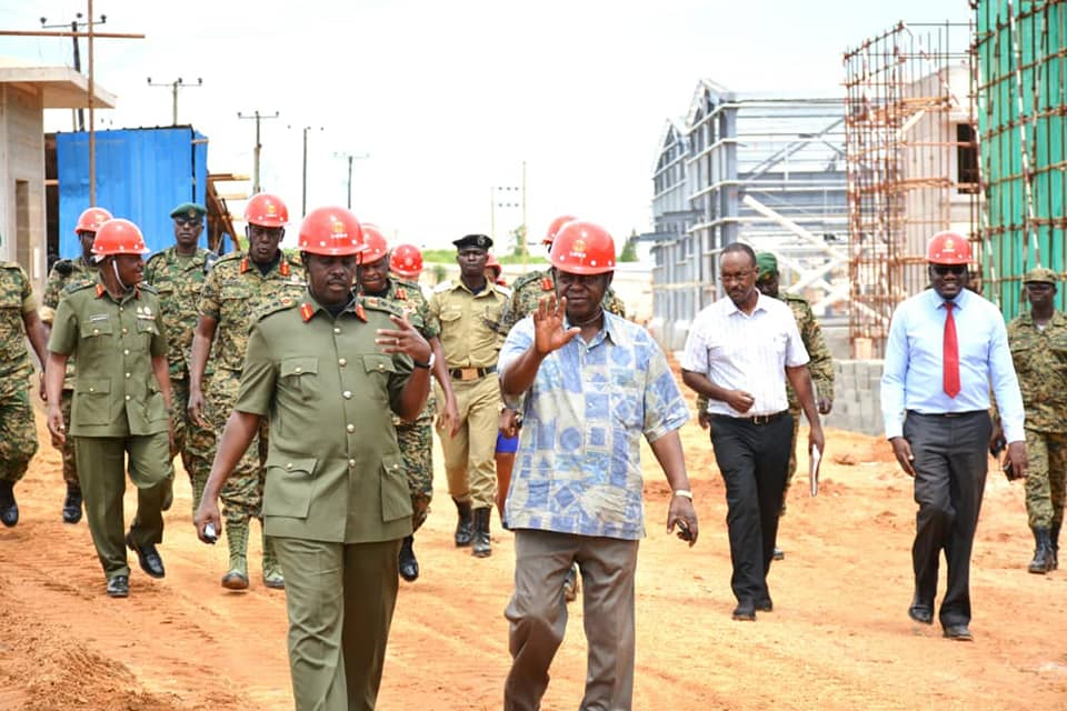 Gen Muhoozi expressed UPDF's interest in partnering with UIRI to boost capacity within the forces' engineering department and also act as a vehicle for skilling soldiers in preparation for their life after retirement.