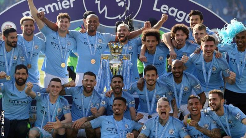Manchester City have won the Premier League title for the past two seasons.