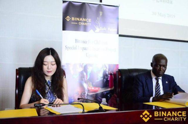 Binance Charity Foundation inks MOU with Ugandan NGO