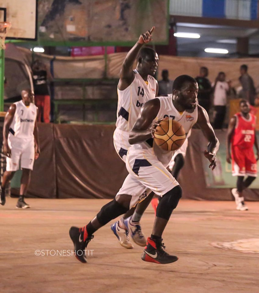 Syrus Kiviri (27) top scored as Power humiliated Falcons on Friday night. (PHOTOS/FUBA)