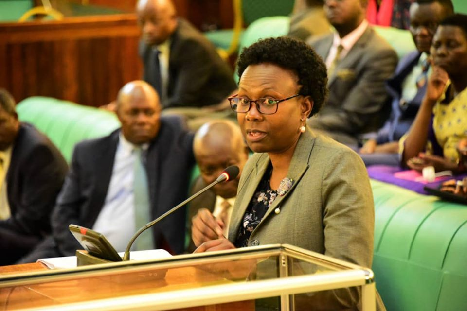 Dr. Jane Aceng, the Minister for Health