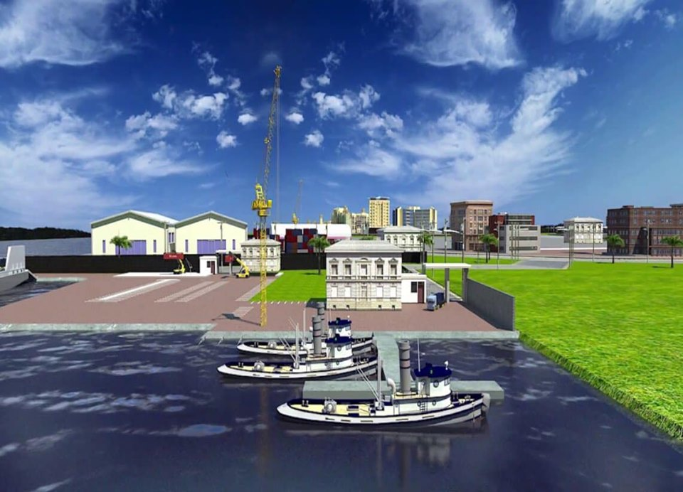 The unveiled plan for Bukasa Port Project