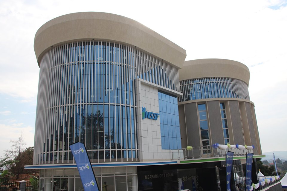 The newly unveiled the NSSF Mbarara City House