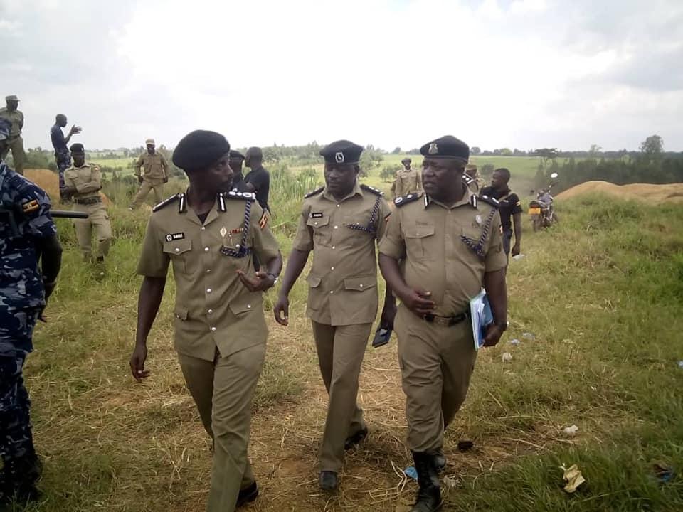 Deputy Inspector General of Police, Maj. Gen. Sabiiti Muzeeyi