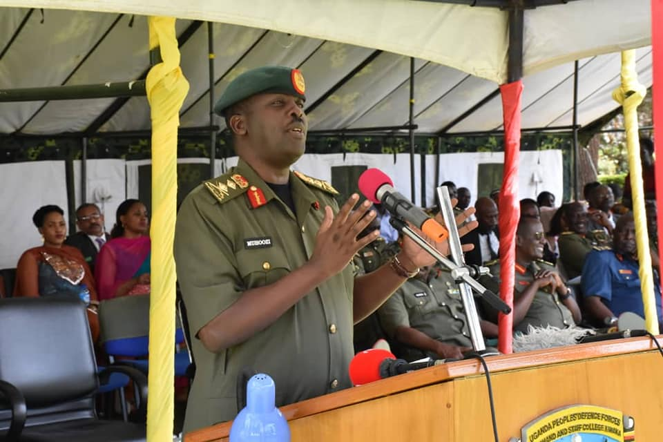 Chief of Defence Forces(CDF) Gen David Muhoozi